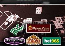 Jackpot City Spin palace bet365 Mr Green Royal Vegas blackjack